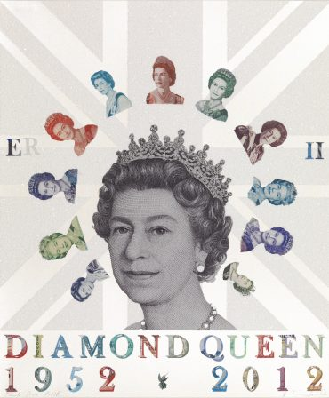 Diamond Queen - a limited edition print by Justine Smith, London