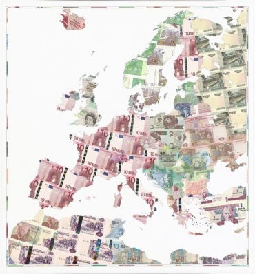 Limited Edition Money Map Prints | Justine Smith