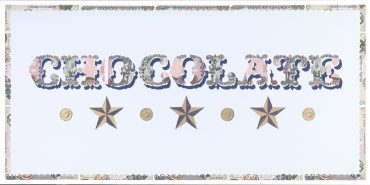 Chocolate Money (I) - a limited edition print by Justine Smith, London