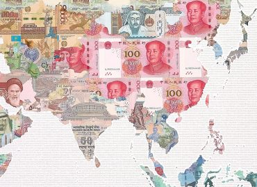 Money Map of the World - China - detail