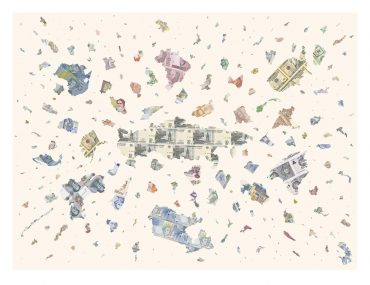 A Bigger Bang - a limited edition money print by Justine Smith, Artist