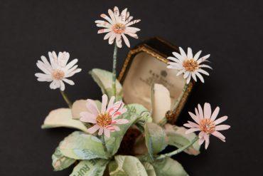 Money Flower Scupture
