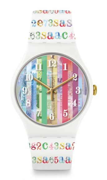 Swatch 'ColourShift' Limited Edition