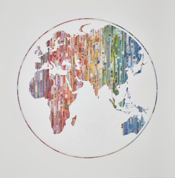 New World Order Map print