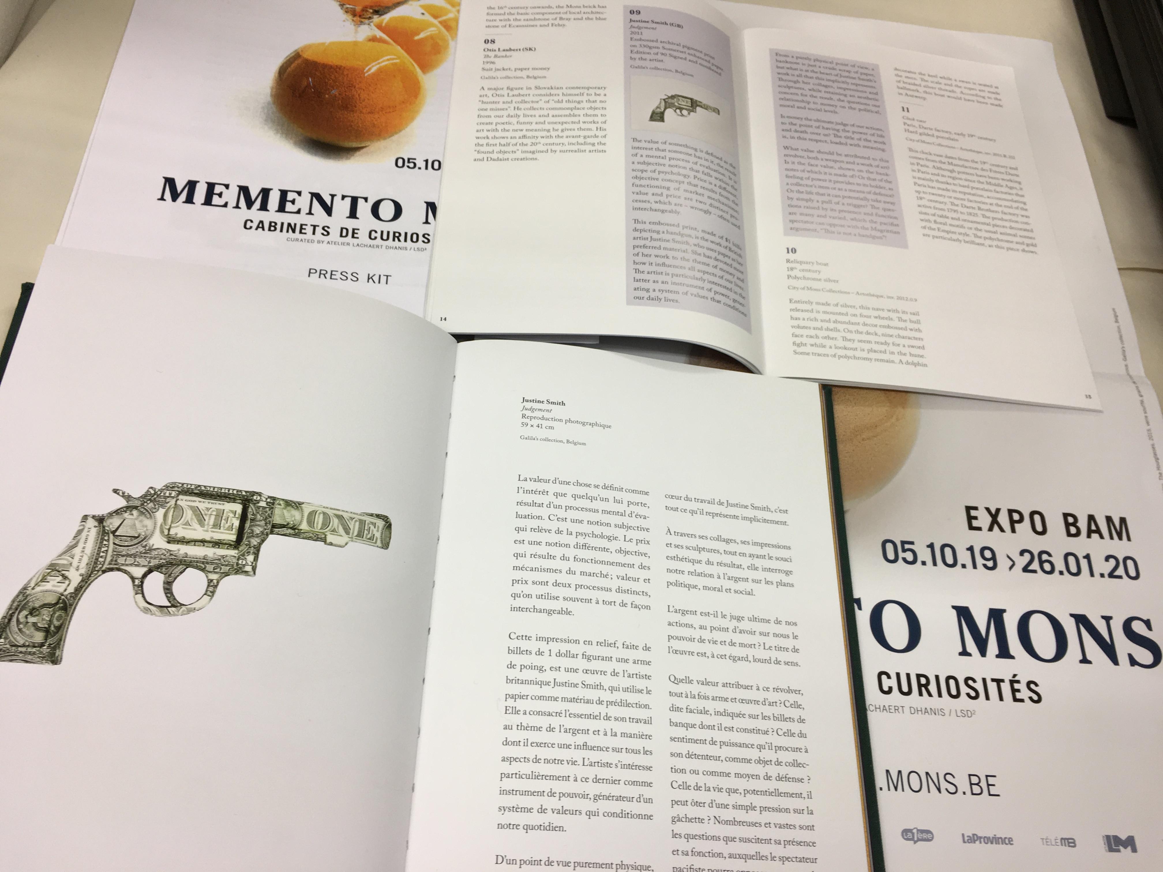 Memento Mons Material