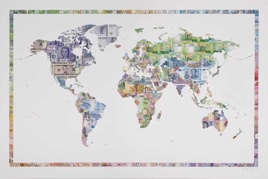 Money Map of the World MMXX - MMXXI