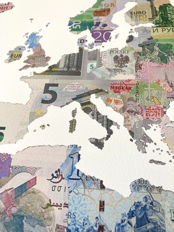 Money Map of the World MMXX -MMXXI. Detail